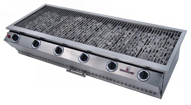 Chad O Chef Sizzler 6 Burner